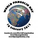 World Pangolin Day is 16 February 2013! #worldpangolinday