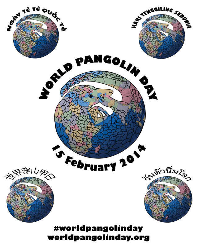 World Pangolin Day is celebrated on the third Saturday in February.